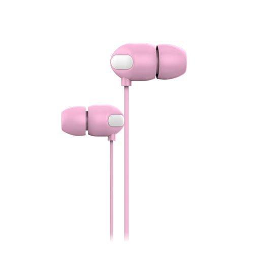 Joyroom Jr-E111 Korvanappikuulokkeet Mikrofonilla Pinkki