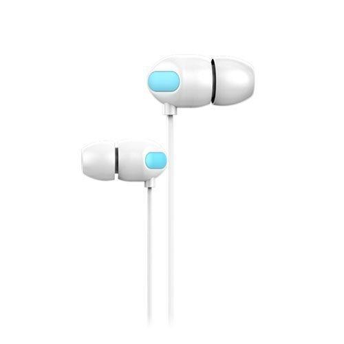 Joyroom Jr-E111 Korvanappikuulokkeet Mikrofonilla Valkoinen