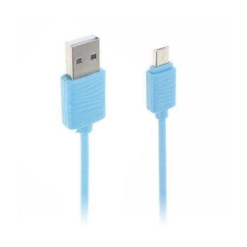 Joyroom Jr-S118 1.0m Mikro Usb Latauskaapeli Sininen