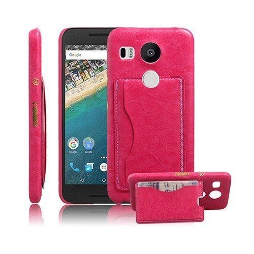 Jungstedt Google Nexus 5x Kuori Kuuma Pinkki