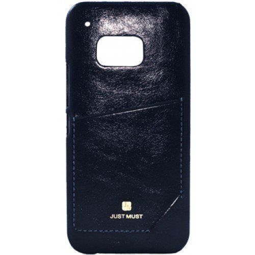 Just Must CHIC suojakotelo korttipaikalla Galaxy S6 Edge BLACK