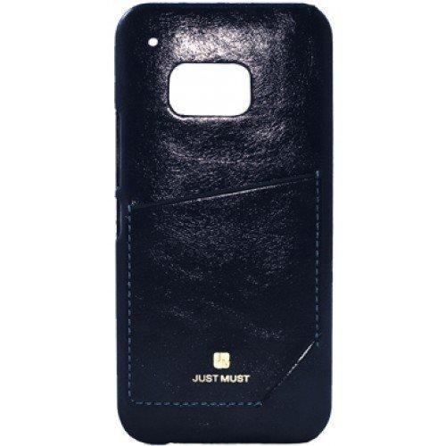 Just Must CHIC suojakotelo korttipaikalla Galaxy S6 Edge BLACK