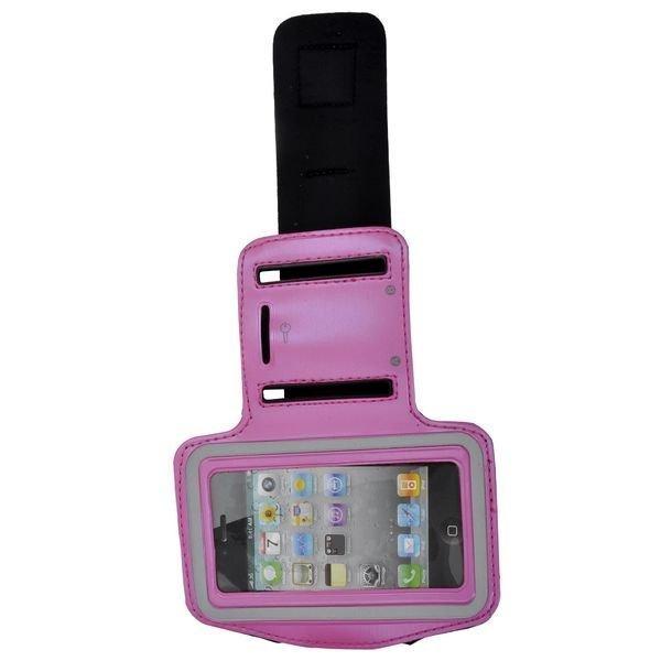 Käsivarsikotelo Älypuhelimille Kuuma Pinkki