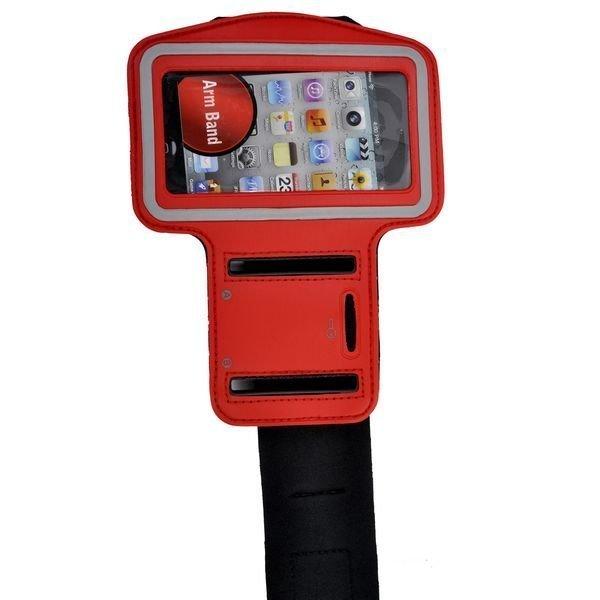 Käsivarsikotelo Älypuhelimille Punainen