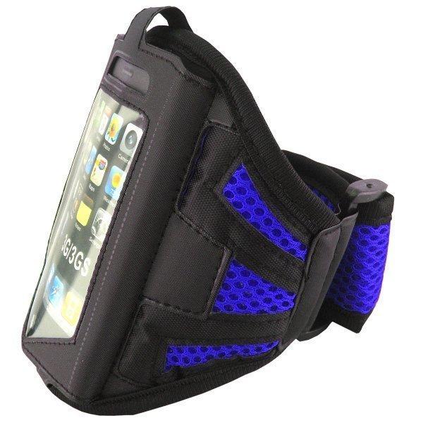 Käsivarsikotelo Älypuhelimille Sininen