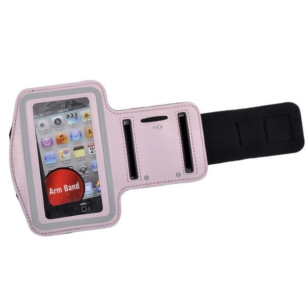 Käsivarsikotelo Älypuhelimille Vaaleanpunainen