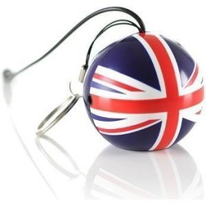 KITSOUND MiniBuddy Speaker UK Flag