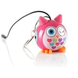 KITSOUND Speaker Owl Pink
