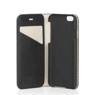 KNOMO Premium Folio iPhone 6 Musta