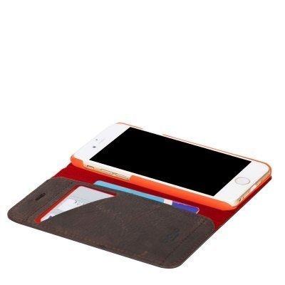 KNOMO Premium Folio iPhone 6 Ruskea