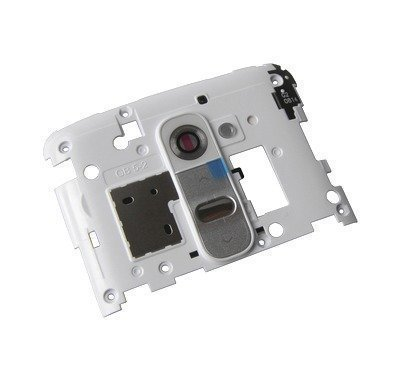Kamera kansi LG D802 Optimus G2 valkoinen
