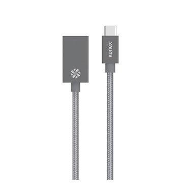 Kanex C-tyypin USB / USB 3.0-Sovitinjohto Avaruusharmaa