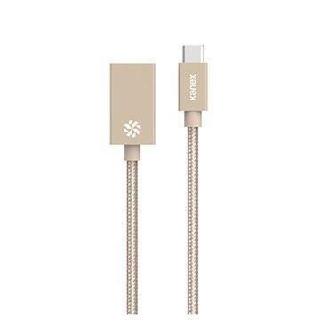 Kanex C-tyypin USB / USB 3.0-Sovitinjohto Kulta