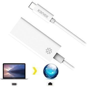 Kanex USB-C / Gigabit Ethernet Kaapeliadapteri Valkoinen