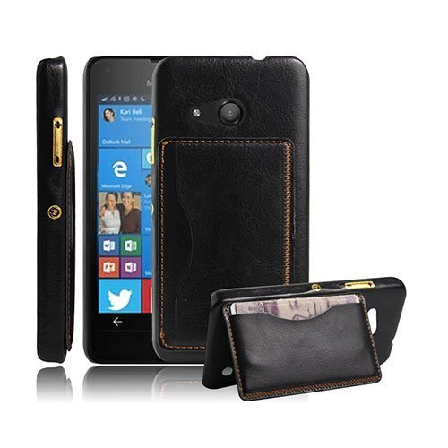 Kangaroo Microsoft Lumia 550 Kova Kotelo Standillä Musta