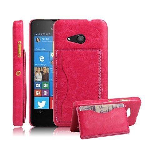Kangaroo Microsoft Lumia 550 Kova Kotelo Standillä Pinkki
