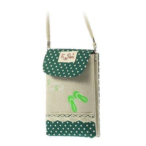 Kangaspussi Vihreä Älypuhelinpussi 17 X 10.5cm