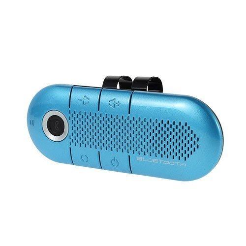 Kannettava Bluetooth Kaiutin Ja Vastaanotin Magneetti Pidikkeellä Sininen