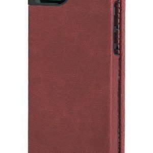 Kensington Portafolio Flip Wallet for iPhone 5 Cream Red