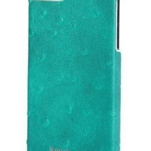 Kensington Vesto Leather Texture Case for iPhone 5 Green