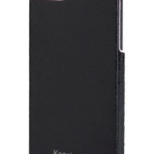 Kensington Vesto Leather Texture Case for iPhone 5 Pink / Black