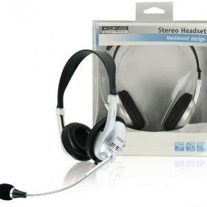 Kevyet stereo headset