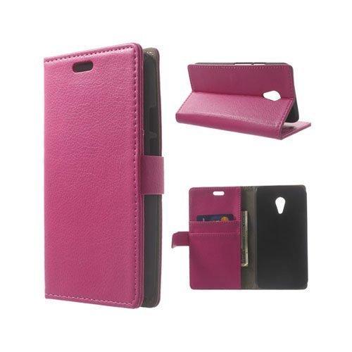 Kierkegaard Kuuma Pinkki Motorola Moto G2 Nahkakotelo