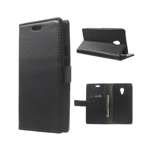 Kierkegaard Musta Motorola Moto G2 Nahkakotelo