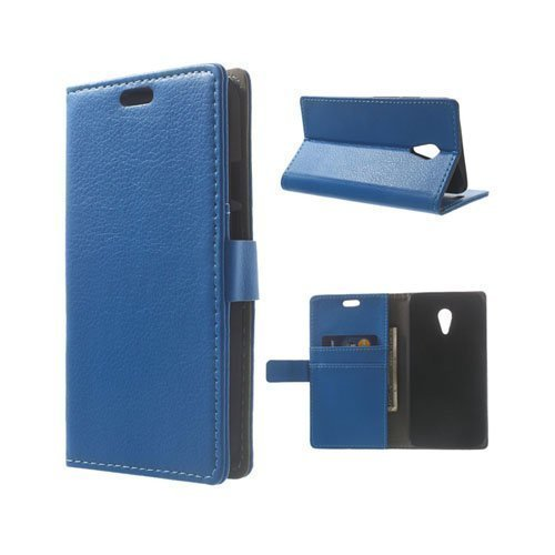 Kierkegaard Sininen Motorola Moto G2 Nahkakotelo