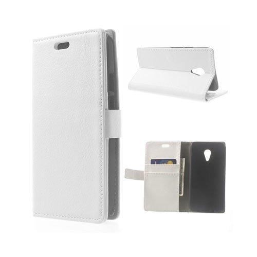 Kierkegaard Valkoinen Motorola Moto G2 Nahkakotelo