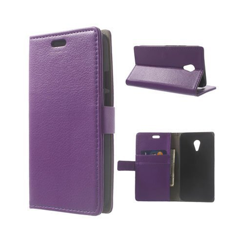 Kierkegaard Violetti Motorola Moto G2 Nahkakotelo
