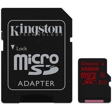 Kingston MicroSDXC Muistikortti 128Gt