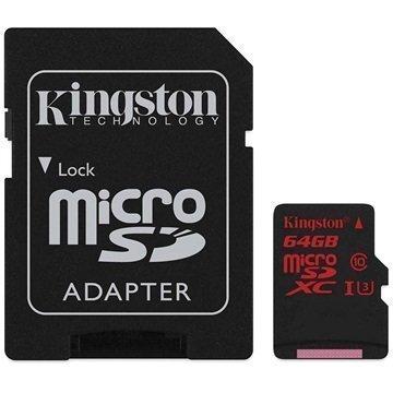 Kingston MicroSDXC Muistikortti 64Gt