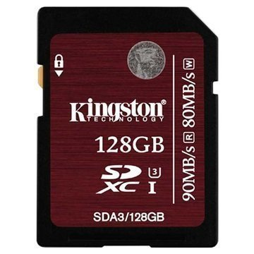 Kingston SDXC Muistikortti 128Gt