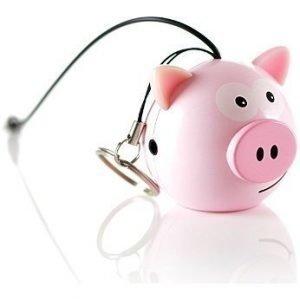 Kitsound Mini Buddy Orginal Speaker Pig Pink EOL
