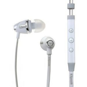 Klipsch Image S4i II In-ear with Mic3 for iPhone White