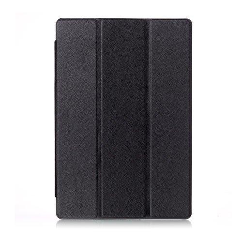 Kolmesti Taittuva Dell Venue 10 Pro 5055 Nahkakotelo Musta