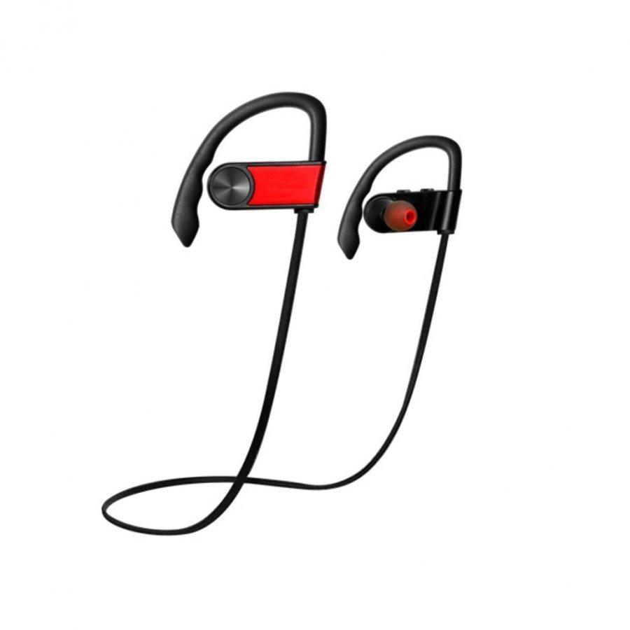 Koncen Bluetooth Urheilu Kuulokkeet Mikrofonilla Älypuhelimille Punainen