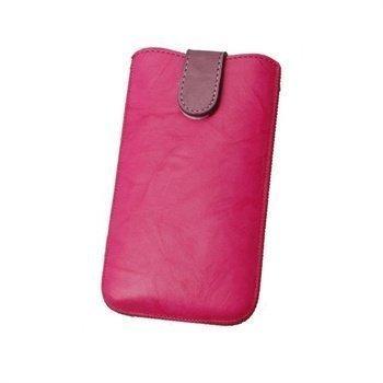 Konkis Calors Quick Up Nahkakotelo iPhone 4 iPhone 4S Nokia C7 Pinkki/Violetti