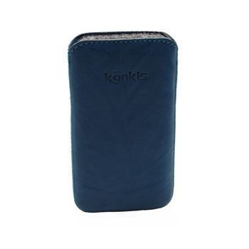 Konkis Leather Case iPhone 4 / 4S HTC Desire S Nokia Asha 303 Washed Blue