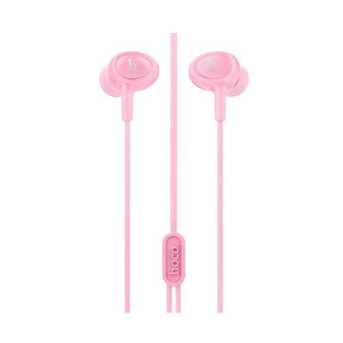 Korvanappikuulokkeet Mikrofonilla Älypuhelimille Pinkki