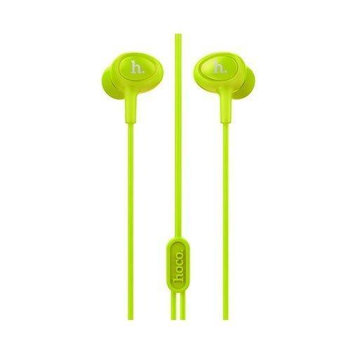 Korvanappikuulokkeet Mikrofonilla Älypuhelimille Vihreä
