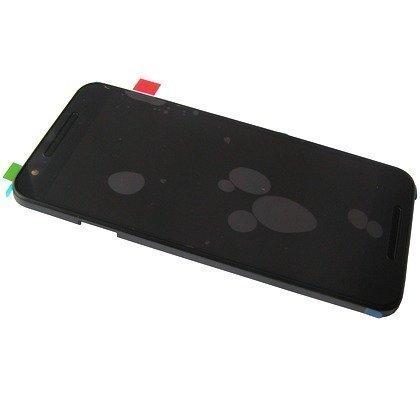 Kosketuspaneeli ja LCD näyttöLG H791 Nexus 5X musta Alkuperäinen
