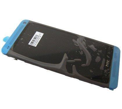 Kosketuspaneeli with LCD Näyttö HTC One M7 blue Alkuperäinen