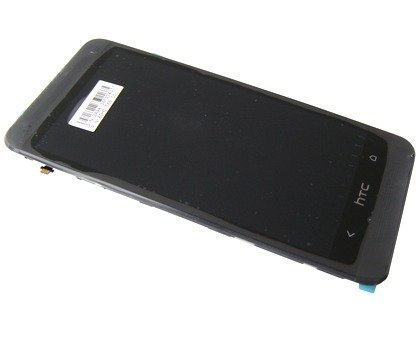 Kosketuspaneeli with lcd Näyttö HTC One M7 musta Alkuperäinen