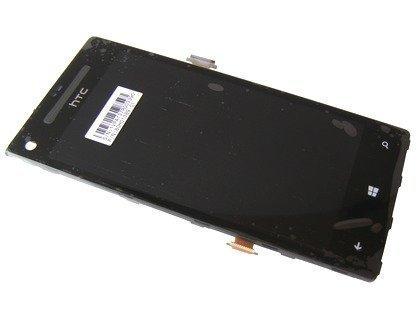 Kosketuspaneeli with lcd Näyttö HTC Windows Phone 8X C620e musta Alkuperäinen