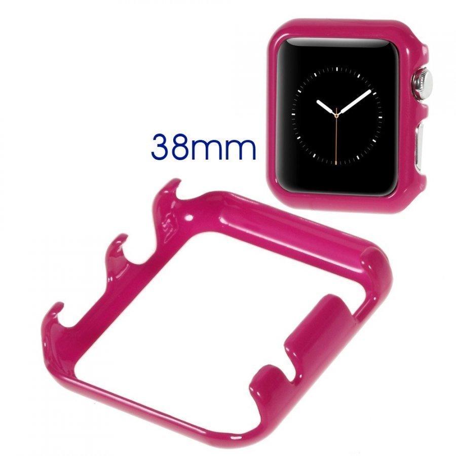 Kova Suojakotelo Apple Kellolle 38mm Kuuma Pinkki