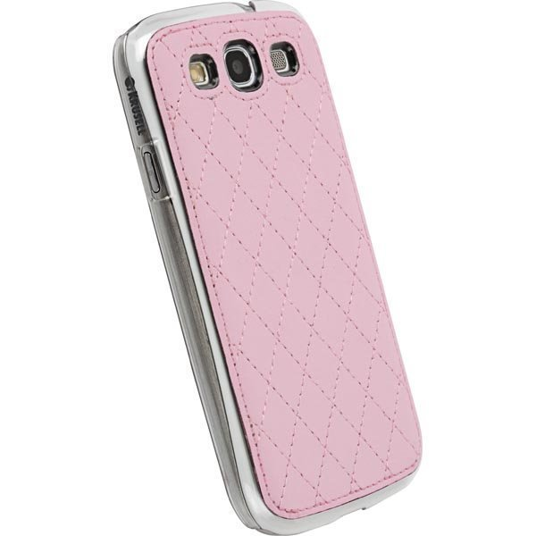 Krusell Avenyn Mobile under cover pink SIII