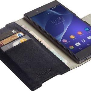 Krusell Borås Foliowallet Sony Xperia Z5 Premium Black
