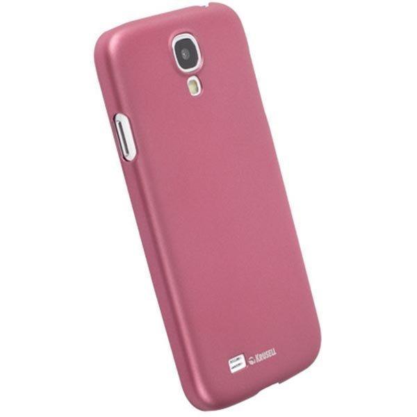 Krusell ColorCover muovikuori Samsung Galaxy S4 mallille vaaleanpun
